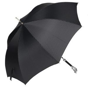 Зонт-трость Pasotti Ferro Silver StripesS Black фото-3