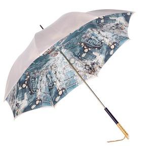 Зонт-трость Pasotti Ivory Biju Perle фото-3