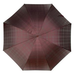 Зонт-трость Pasotti Jaguar Silver Cell Bordo    фото-2