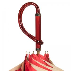 Зонт-трость Pasotti Rosso Georgin Coral Plastica фото-3