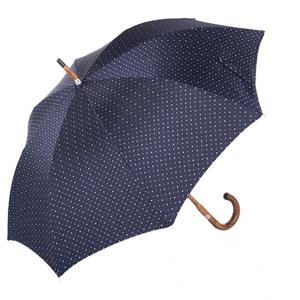 Зонт-трость Pasotti Bark Chestnut Dots Marrone фото-3