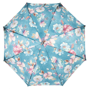Зонт складной Pasotti Mini Tella Biruza фото-3