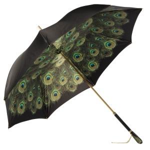 Зонт-трость Pasotti Nero Hawaii Swarovski фото-3