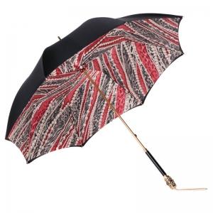 Зонт-трость Pasotti Nero Perls Rosso Botte фото-3