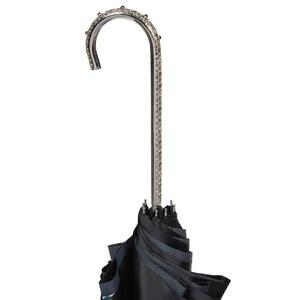 Зонт-трость Pasotti Nero Shawl Point Nickel фото-3