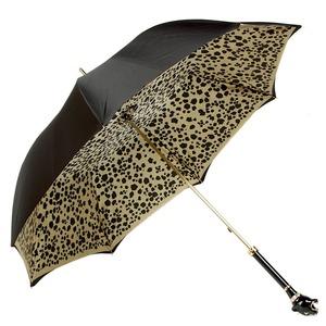 Зонт-трость Pasotti Nero Pantera Lux фото-3