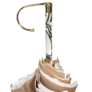 Зонт-трость Pasotti Sand Abstract Marble фото-3