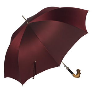 Зонт-трость Pasotti Schnauzer Oxford Bordo фото-3