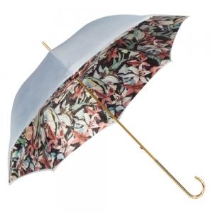 Зонт-трость Pasotti Sky Iris Black Dentell Oro фото-4