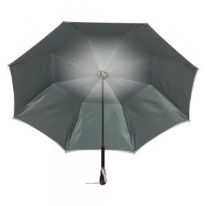 Зонт-трость Pasotti Swarovski Grigio фото-4