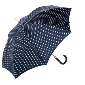 Зонт-трость Pasotti Uno Dots Blu/White Panno фото-3