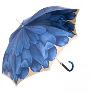 Зонт-трость Pasotti Uno Georgin Blu фото-3