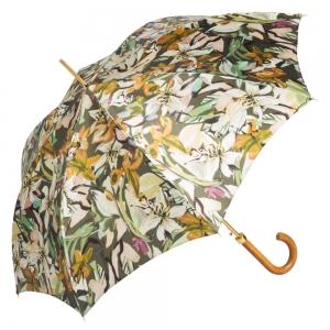 Зонт-трость Pasotti Uno Iris Verde Legno фото-3