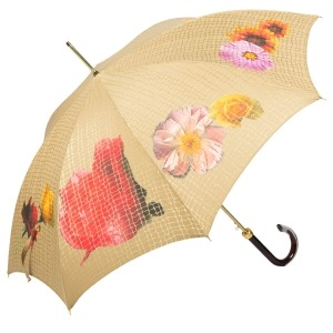 Зонт-трость Pasotti Uno Pazzle Sand фото-3