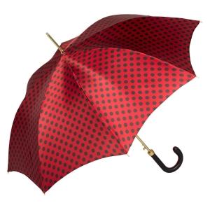 Зонт-трость Pasotti Uno Pois Rosso фото-3