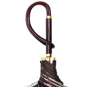 Зонт-трость Pasotti Marrone Fern Pastica фото-4