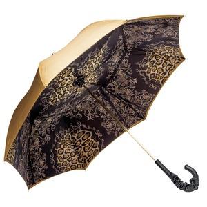 Зонт-трость Pasotti Becolore Gialo Leo Fiore Pelle фото-3