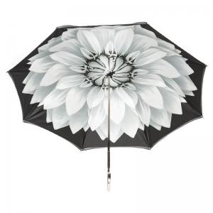 Зонт-трость Pasotti Becolore Georgin Grigio Nickel фото-2