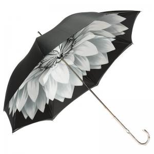 Зонт-трость Pasotti Becolore Georgin Grigio Nickel фото-3