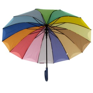 Зонт-трость Guy De Jean 6397-LA Rainbow Blu фото-2