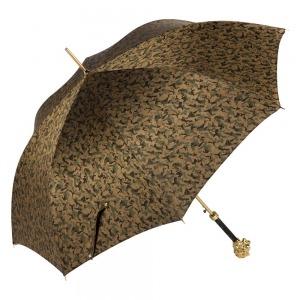 Зонт-трость Pasotti Leone Gold Reflection Oliva фото-2