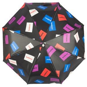 Зонт складной Baldinini 38-OC Plate Black  фото-3