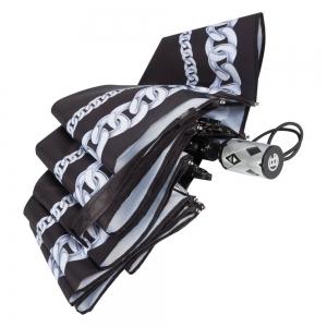 Зонт складной Baldinini 42-OC Catena Silver фото-3