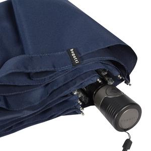 Зонт складной Bugatti 744163003-OC Navi Blu фото-3