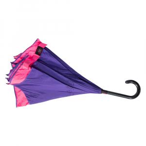 Зонт-Трость Emme M429-LM Reverso Neon Pink фото-3