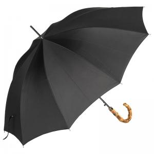 Зонт-трость Ferre 3043B-LA Bamboo Black фото-3
