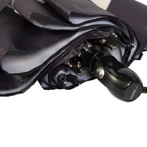 Зонт складной Ferre 6021-OC Tape Black фото-3