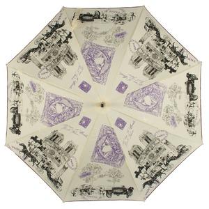 Зонт-трость GDJ 1011-LA NotreDame Crema long фото-2