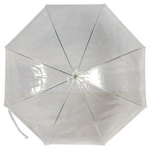 Зонт-трость GDJ 1215-LM Frivole Tulle Bianco long фото-2