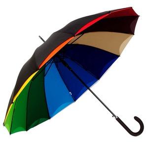 Зонт-трость Guy De Jean 6397-LA Rainbow Noir фото-1