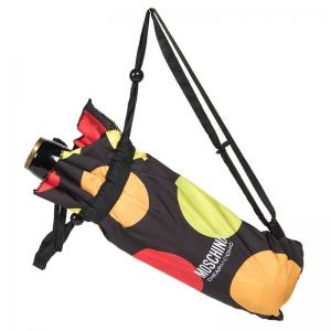 Зонт складной Moschino 417-OCA Maxi Pois Black фото-3