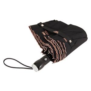 Зонт складной M 7000-OCA Embroidery Black фото-3