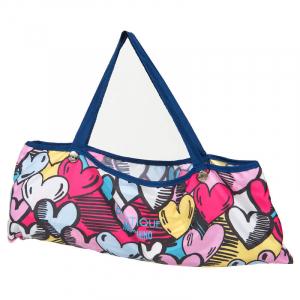 Зонт складной Moschino 7525-OCF Pop Hearts Blue  фото-3