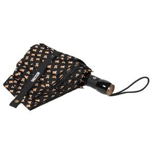 Зонт складной Moschino 8060-OCA Toy All Over Black фото-3