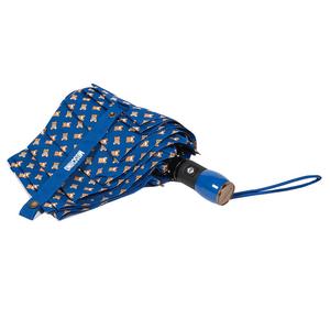 Зонт складной Moschino 8060-OCC Toy All Over Blue фото-3