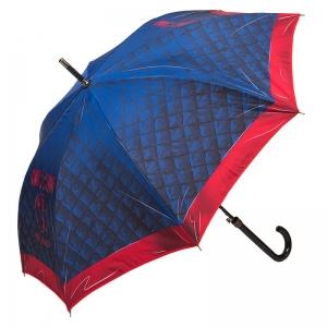 Зонт-трость Moschino 8249-63AUTOA Matelasse Blue фото-1