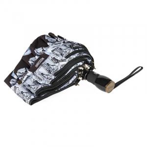 Зонт складной Moschino 8260-OCA Shopping Cartss Multi  фото-3