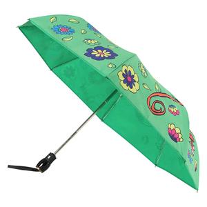 Зонт складной M 8261-OCM Cartoon Monkey Green Multi фото-2