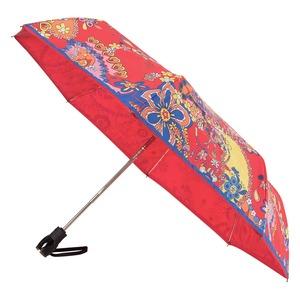 Зонт складной M 8264-OCC Paisley Red Multi фото-2