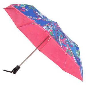Зонт складной Moschino 8264-OCF Paisley Blue Multi фото-2