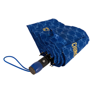 Зонт складной M 8270-OCF QM All-Over Blue фото-3