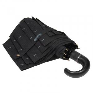 Зонт складной Moschino 8511-TOPLESSA Pois Logo Black фото-3