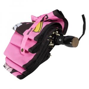 Зонт складной Moschino 8022-OCN Betty Bimbo Photo Pink фото-4
