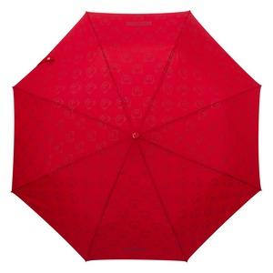 Зонт складной Moschino 8043-OCC Monobear Gold Red фото-3