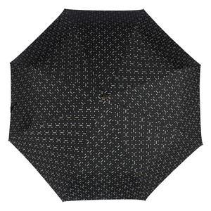 Зонт складной Moschino 8505-ToplessA Man dots Black фото-3