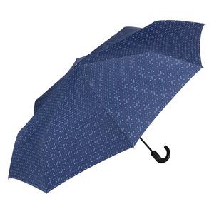 Зонт складной Moschino 8505-ToplessF Man dots Blue фото-2